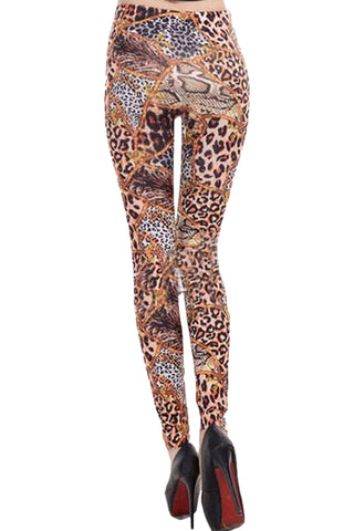 Cheetah Print Leggings
