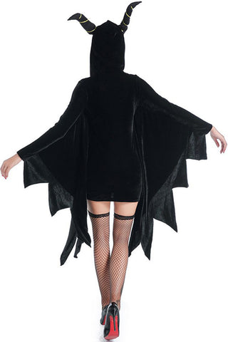 Black Vampire Bat Costume