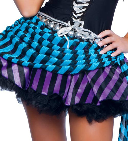Atomic Black and Purple Gypsy Costume