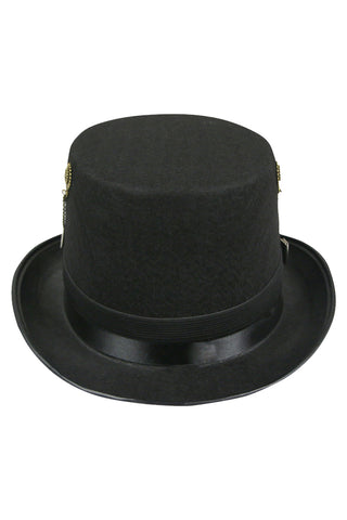 Atomic Goggles and Gears Top Hat
