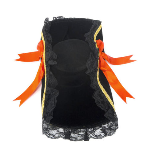 Atomic Black Pirate Hat