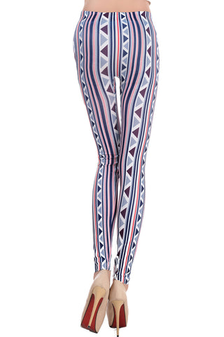 Aztec Tribal Print Leggings