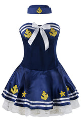 Blue High Seas Sailor Costume