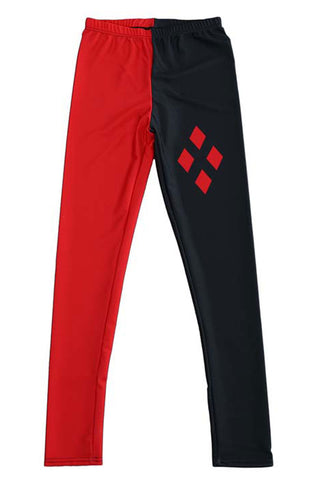 Harley Quinn Inspired Leggings