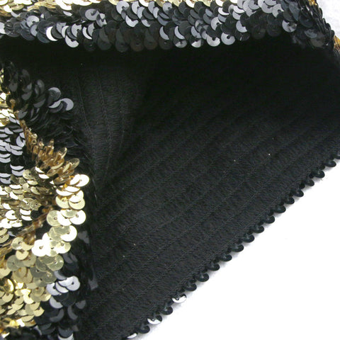 Atomic Gold and Black Sequins Bee Costume