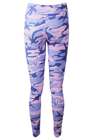 Atomic Camouflage Print Leggings