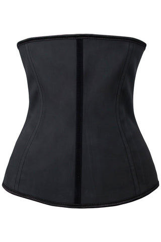 Black Latex Body Shaper Corset