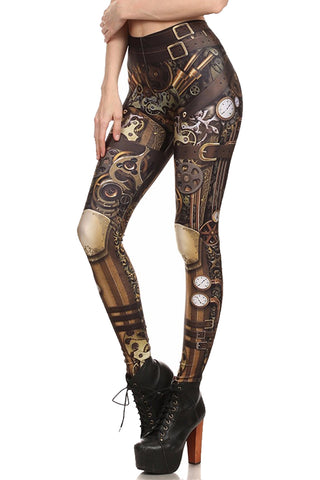 Steampunk Warrior Leggings