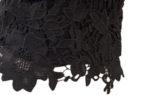 Black Sands Floral Lace Bustier