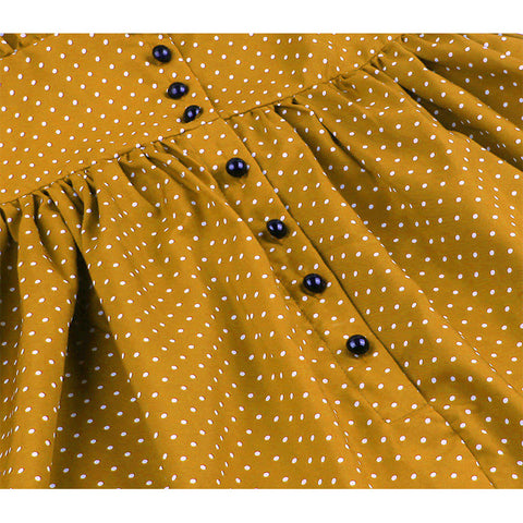 Vintage Rockabilly Polka Dot Dress