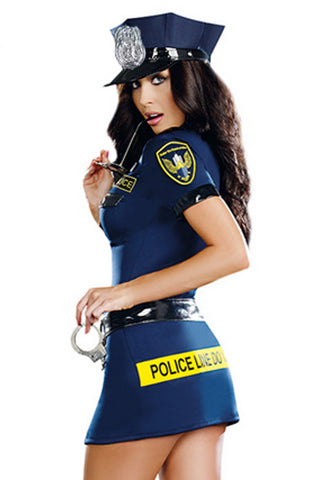 Officer Sheila B Naughty Police Costume