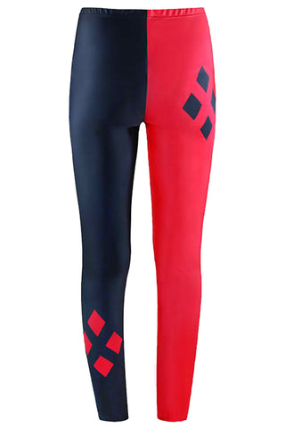 Classic Harley Quinn Inspired Corset & Leggings Set