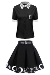 Moon Child Shirt & Skirt Set