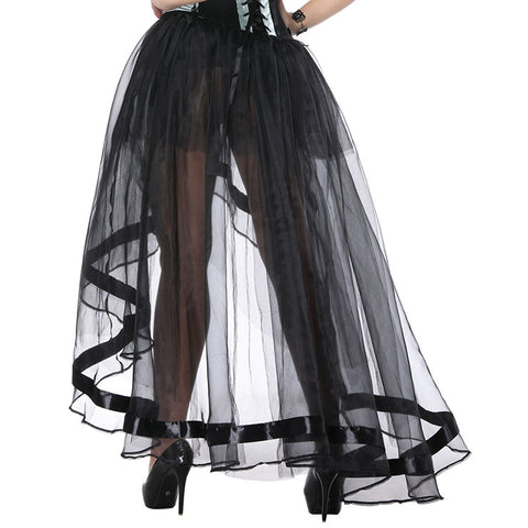 Multi Layer Sheer Organza Tutu Skirt