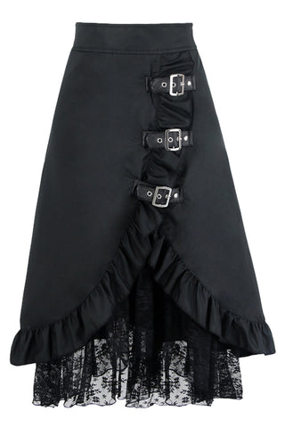 Gothic Hippie Lace Skirt
