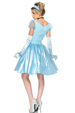 Blue Princess Gown Costume