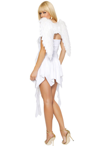 White Heavenly Hottie Costume