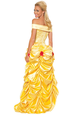 Deluxe Yellow Southern Belle Costume