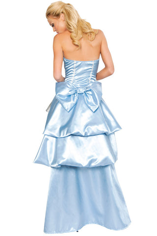 Deluxe Blue Southern Cinderella Inspired Costume