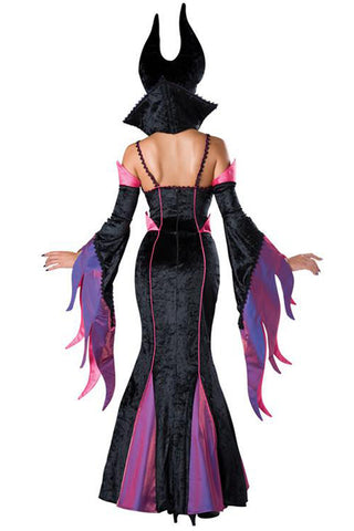 Purple and Black Maleficent Inspired Costume