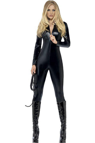 Black Whiplash Catsuit Costume