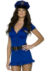 Blue Police Officer Costume
