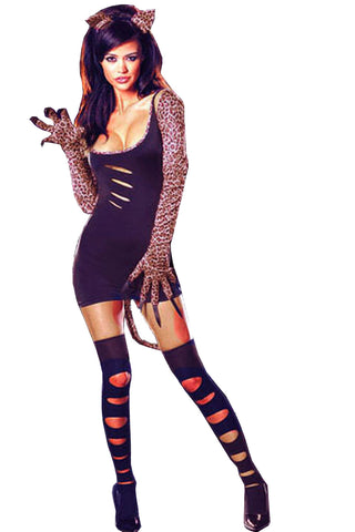 Leopard Ripped Costume