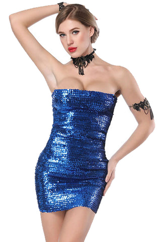 Sparkly Sequinned Bodycon MIni Dress