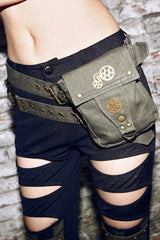 Atomic Grey Ammo and Gears Belt Bag