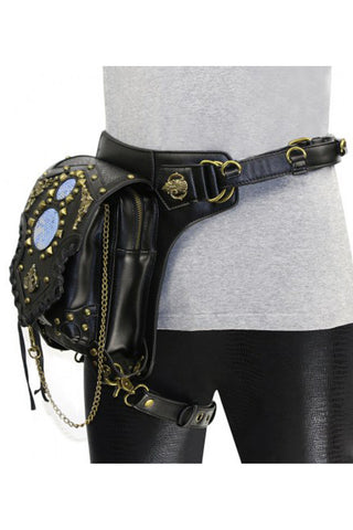 Black Studded Sphere Bag