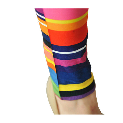 Chromatic Stripe Leggings
