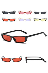 Atomic Rectangular Vintage Edge Sunglasses