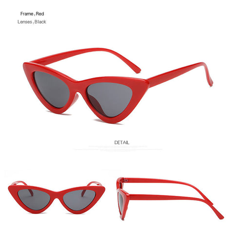 Triangle Vintage Retro Sunglasses