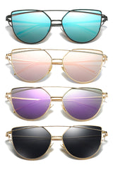 Atomic Vintage Reflective Flat Sunglasses