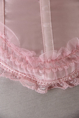 Strawberry Shortcake Pink Overbust Corset