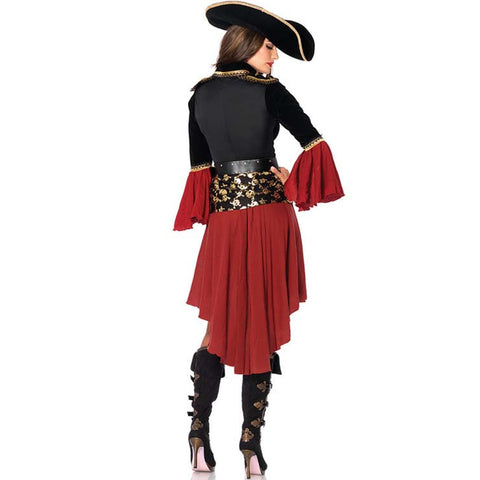 Women's Three Piece Pirate Costume
