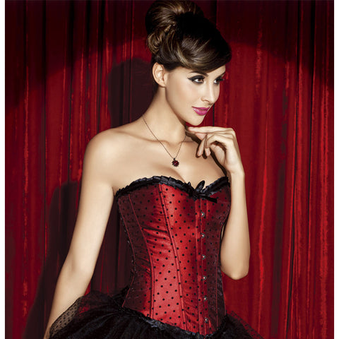 Red Polka Dot Corset