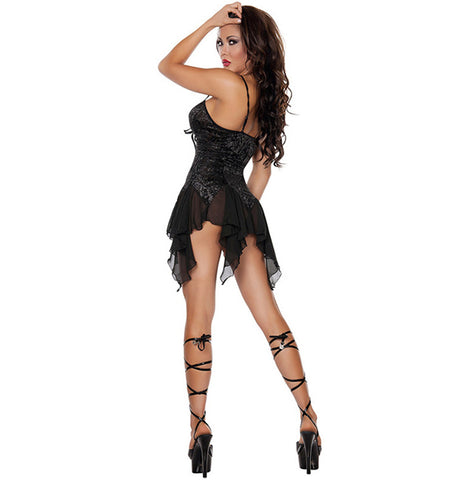 Atomic Black Beauty Chemise