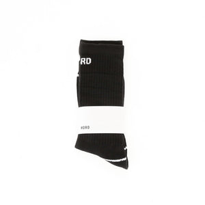 Black Reflective Socks