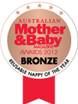 Reusable nappy of the year - Bronze