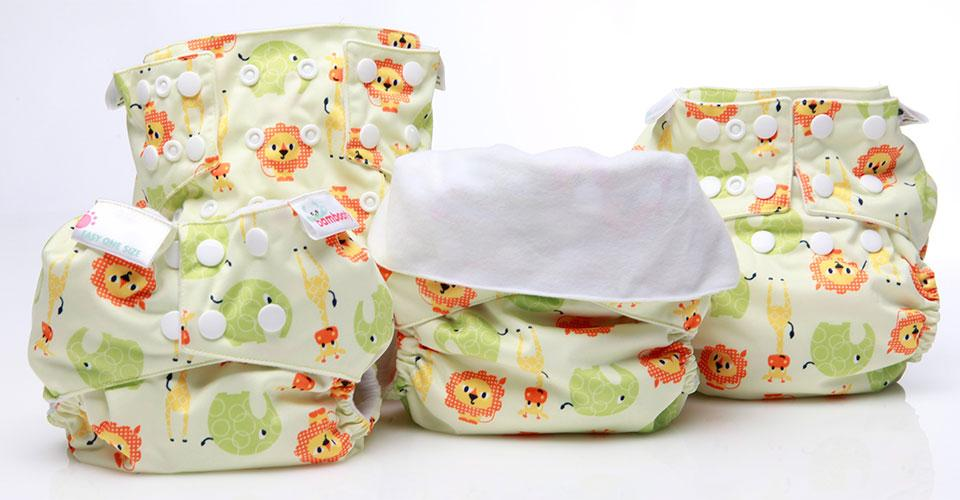 One Size Fits Most Cloth Nappy Sizes