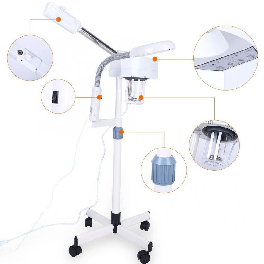 Ultrasonic Face Steamer Ozone Lamp Stand