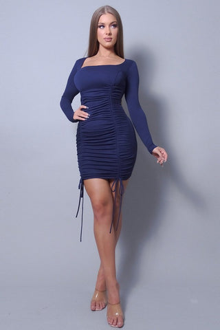 J'Adore Blue Mini Dress