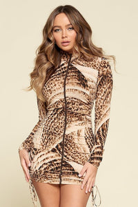 Sandy Bodycon Long Sleeve Dress