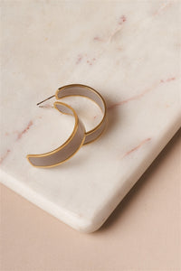 Magnetic Half Hoop Earrings