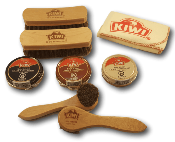 Kiwi Brush and Polish Bundle