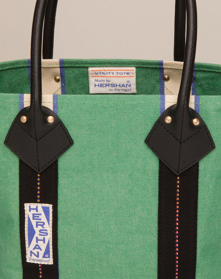 Small Utility Tote - Emerald