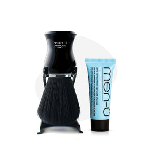 men-ü PRO BLACK Shaving Brush & Stand + SC15
