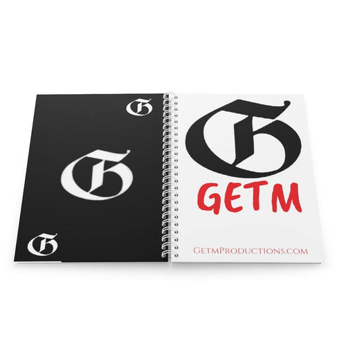 Spiral Getm Book getm-productions-llc Paper products Printify.