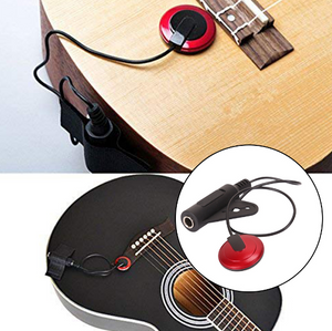 Acoustic Guitar Pickup Mini Microphone Transducer